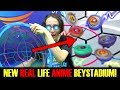 NEW REAL LIFE ANIME BEYSTADIUM! BEYBLADE BURST EVOLUTION TURBO CHO-Z GOD BATTLES!!
