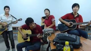 Chiếc lá hy vọng - Tạ Quang Thắng (cover BHIU Guitar club)