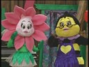 Kristy and Lindsey Landers as babies on PBS kids tv show