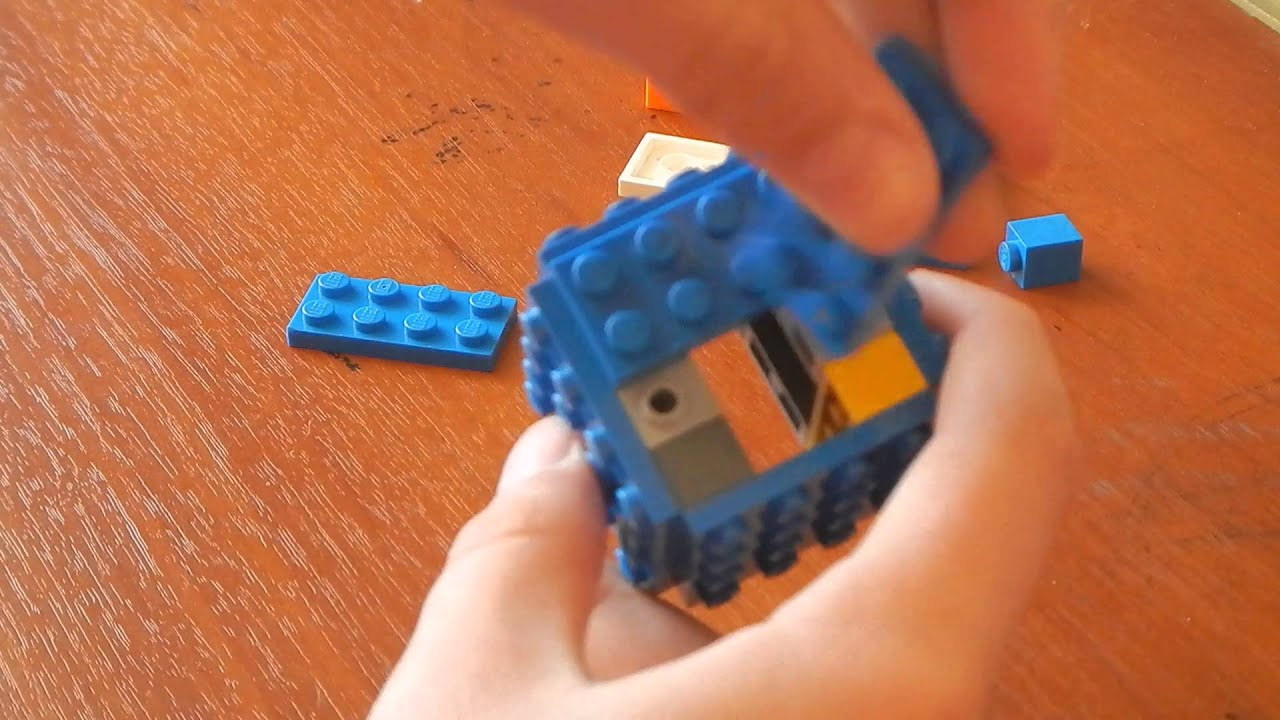 Как сделать из лего майнкрафт сундук