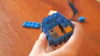 как сделать из лего майнкрафт страж (улучшенная версия)
