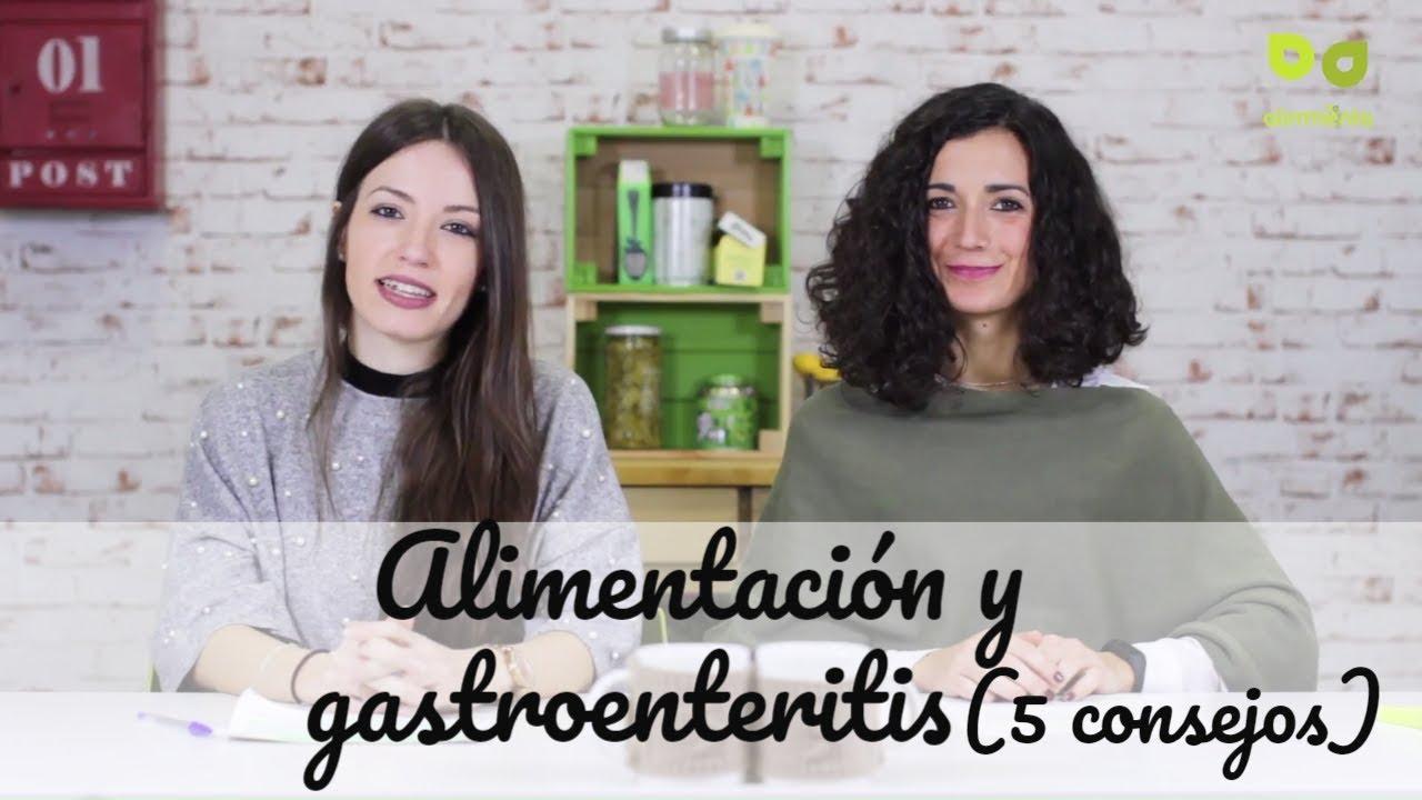 Gastroenteritis aguda dieta y consejos