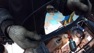 Замена ремня генератора на Lada 2113-2115 за 10 мин