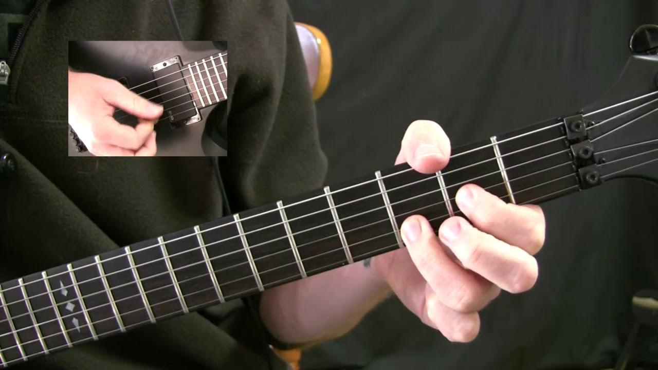 Power Chord Mechanics 80s Pop Metal Style Youtube