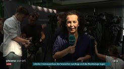 phoenix-Reporterin Jeanette Klag in Berlin zur Sitzung des Innenausschusses am 26.06.19
