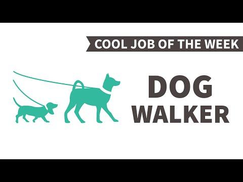Cool Job of the Week: Dog Walker