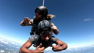 Jabz World's First Sky Diving Experience!