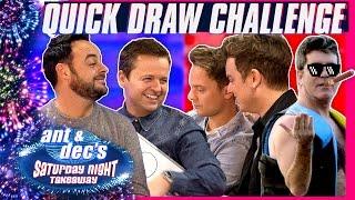 The Quick Draw Challenge | Ant & Dec v Jack & Conor Maynard