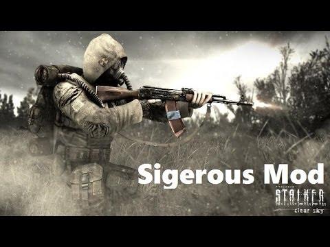 Sigerous mod 3. 10 сталкер чистое небо скачать торрент sigerous.