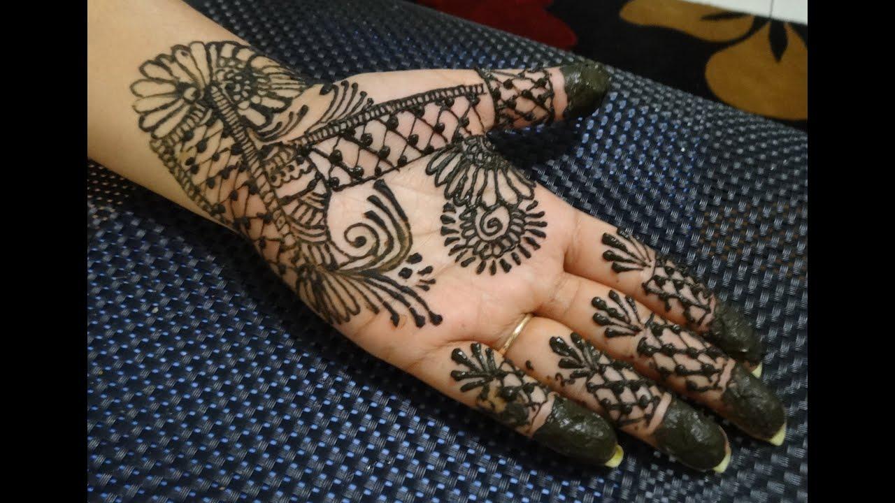 Mehndi Designs Hands Teej : Cute unique easy henna mehendi tattoo for eid ramzan