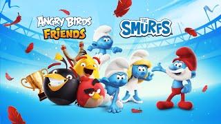 Angry Birds Friends X The Smurfs   Smurfs Tournament