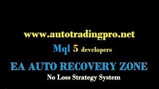 NO LOSS STRATEGY || EA AUTO RECOVERY ZONE Part 2
