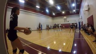 FMMCA vs St. Michael CHS [Sr. Girls Volleyball] SET 2