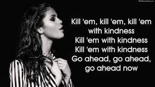 Watch hd version of selena gomez - kill em with kindness (lyrics on screen). this is cover by katy emblem. subcribe her channel here : https://www.yo...