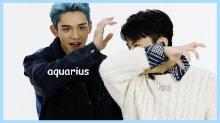 kpop idols acting like their zodiac signs