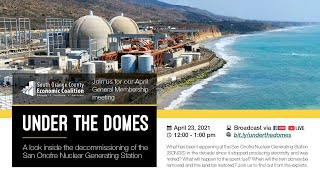 Under the Domes: A look inside the decommissioning of the San Onofre Nuclear Generating Station