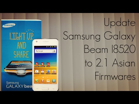 Update Samsung Galaxy Beam I8520 to 2.1 Asian Firmwares - PhoneRadar