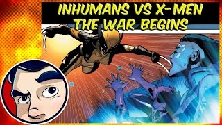 """Inhumans Vs X-Men """"The End of the X-Men?"""" #1 - ANAD InComplete Story"""
