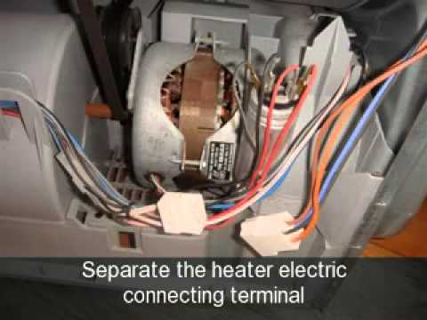 How to change the Heater Element on an Indesit Tumble Dryer  YouTube