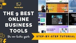 ESSENTIAL ONLINE BUSINESS TOOLS: 9 Useful Online Business Tools For Online Business
