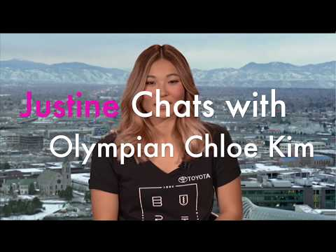 Justine Magazine: Chatting with Gold Medalist Chloe Kim
