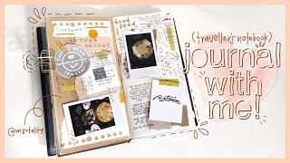 journal with me #1 (traveler's notebook)