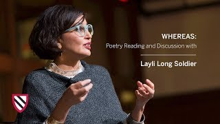 Layli Long Soldier | WHEREAS || Radcliffe Institute