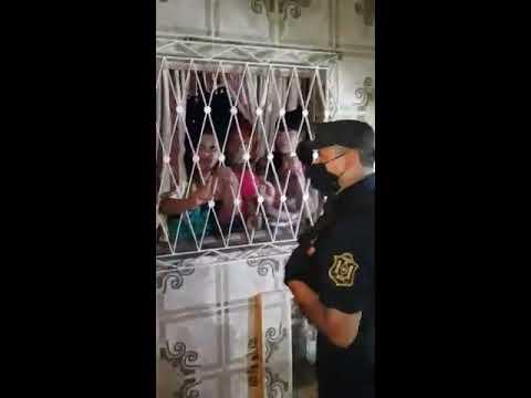 Procedimiento policial en fiesta clandestina Salta