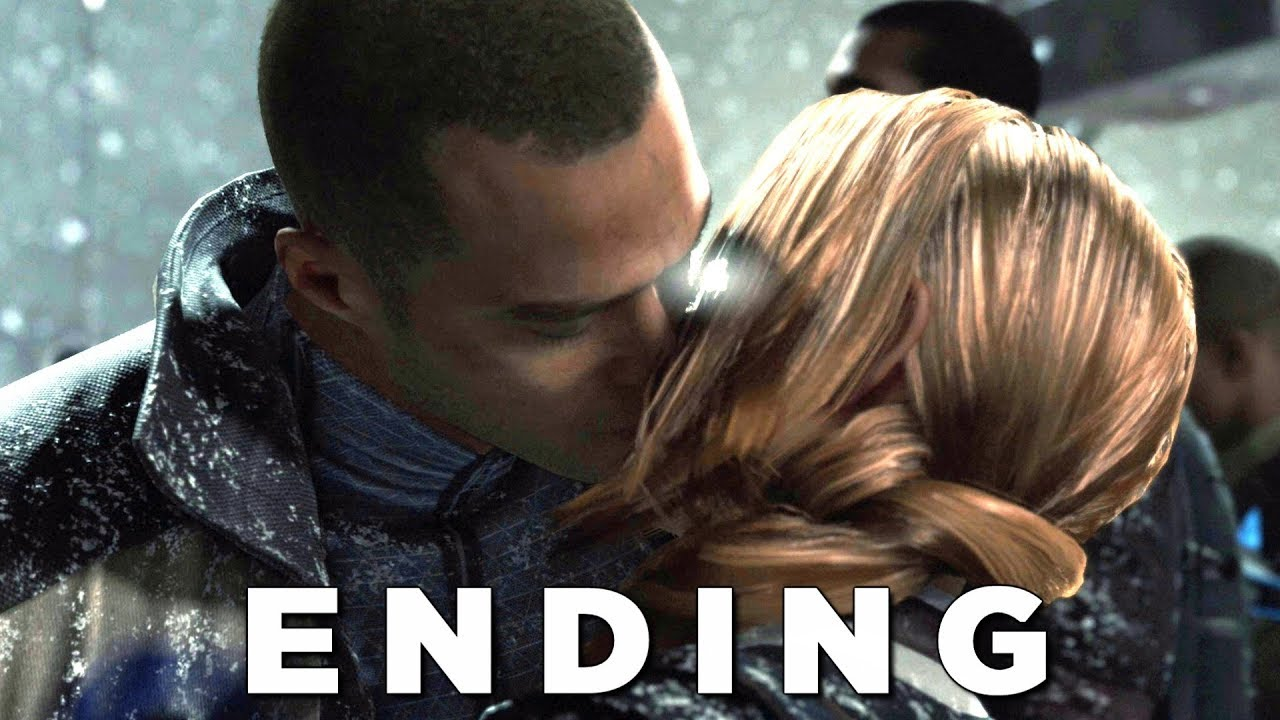 DETROIT BECOME HUMAN ENDING (BEST ENDING) Walkthrough Gameplay Part 30 (PS4 Pro)