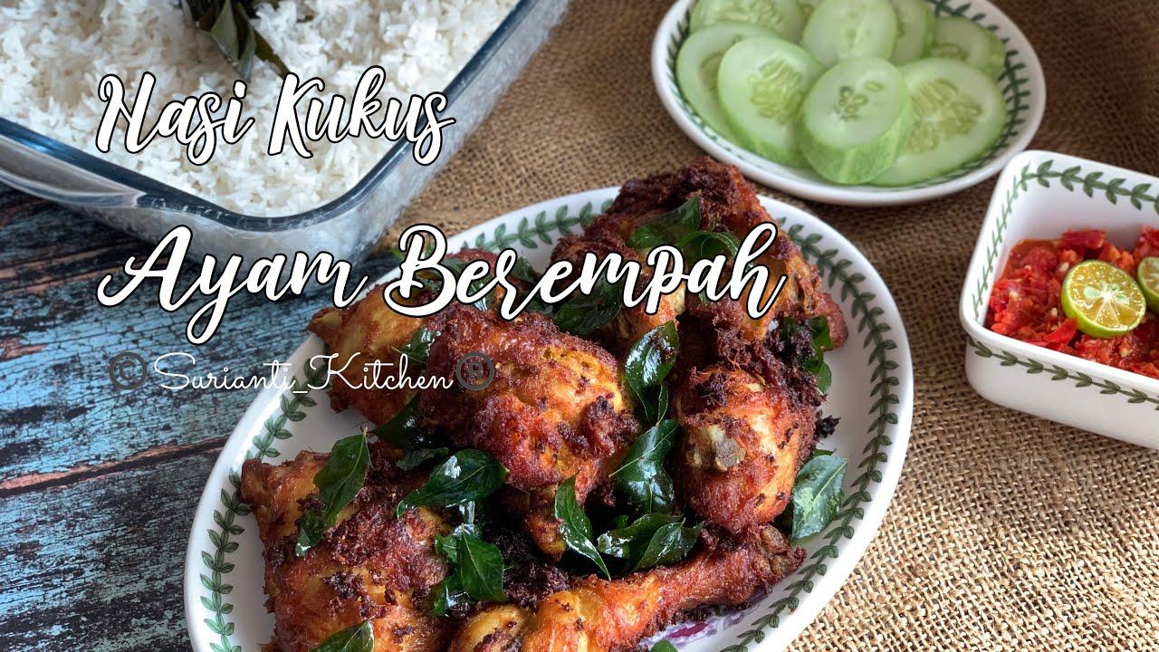 resepi nasi ayam goreng berempah langkah nasi ayam mangkuk aneka masakan enak Resepi Nasi Lemak Kukus Enak dan Mudah