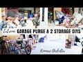 EXTREME GARAGE DECLUTTER | DIY BIKE RACK | KONMARI | Nesting Story