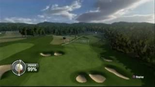 Tiger Woods PGA Tour 10 (PS3) - Career - EA Sports Major Championship Round 2 Highlights