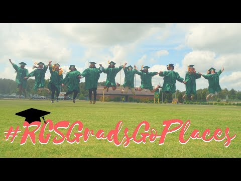 Richmond Senior High School's 2017 Senior Walk