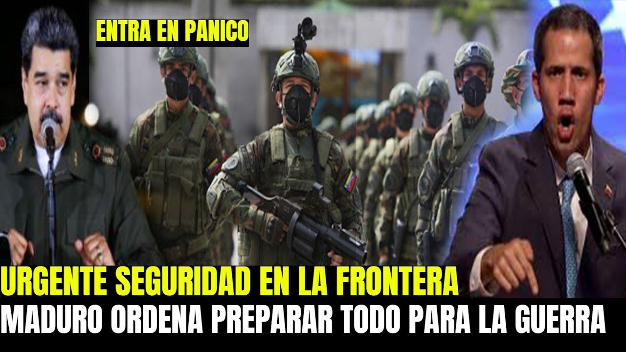 NICOLAS MADURO PIDE MAS SEGURIDAD A PADRINO LOPEZ - VAN A ENTRAR A VENEZUELA ANUNCIA GUAIDO
