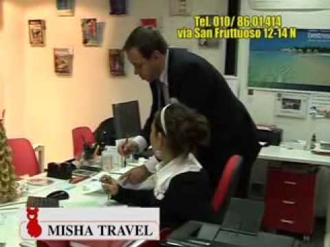 AGENZIA VIAGGI MISHA TRAVEL SAN FRUTTUOSO GENOVA (SPOT TELEVISIVO)