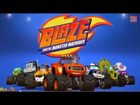 Blade and the monster machine blaze race to the rescue for Blaze e le mega macchine youtube