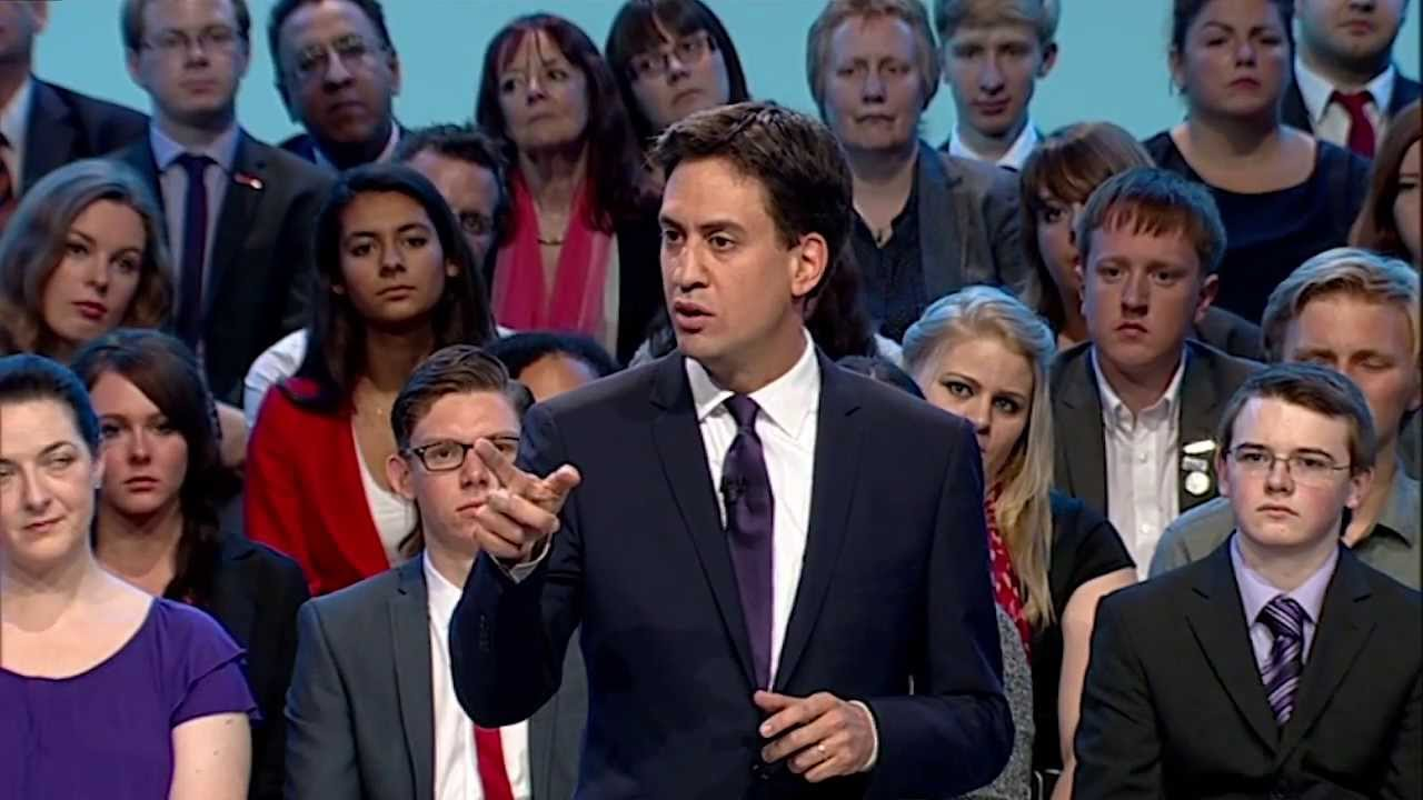 Image result for ed miliband speech 2013