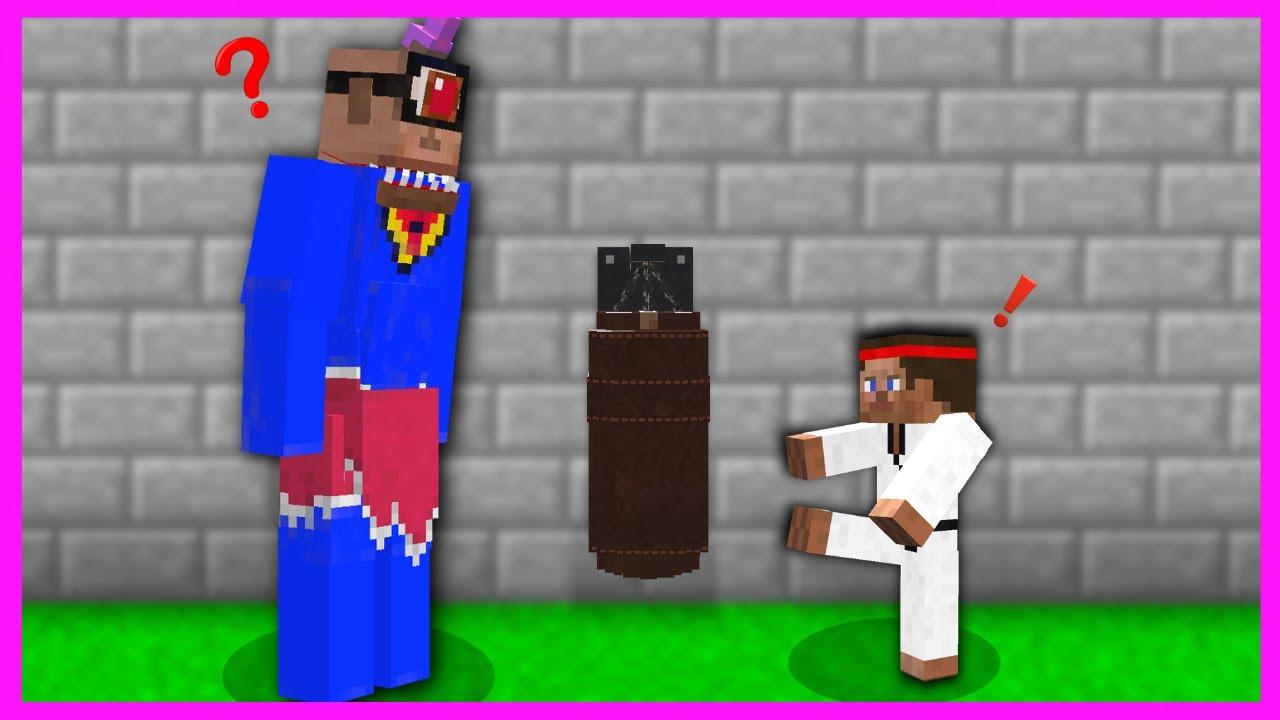 SÜPER TEPEGÖZ KARATE ÖĞRENDİ! 😱 - Minecraft