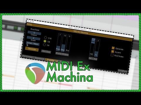 MIDI Ex Machina - MIDI generator script for REAPER by RobU23