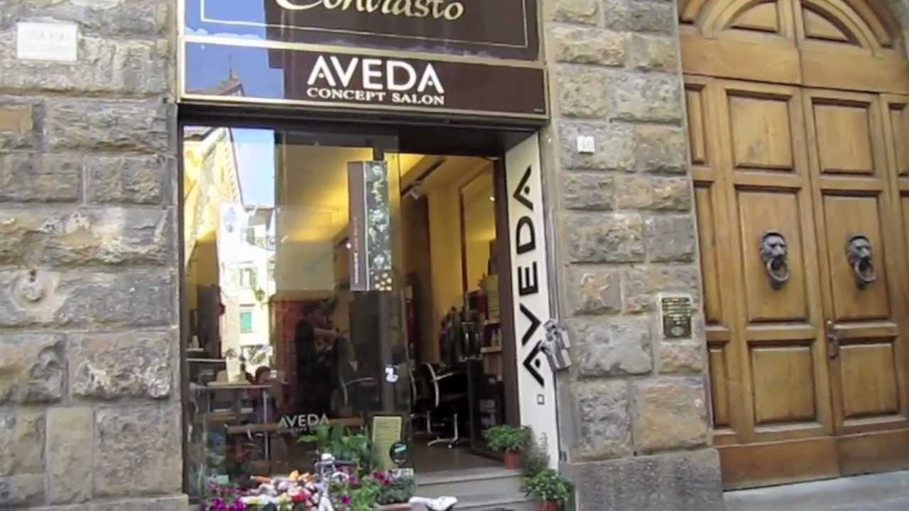 aveda salon hair florence italy
