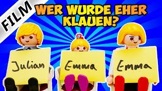 Playmobil Film Deutsch WER WÜRDE EHER...CHALLENGE MIT JULIAN + EMMA! WER KENNT SIE GUT?Familie Vogel