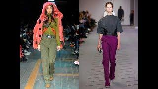 видео Женские джинсы клеш снова в моде в 2018 году: модная новинка сезона на фото