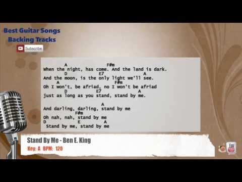 Stand By Me - Ben E. King Vocal Backing Track with chords and lyrics
