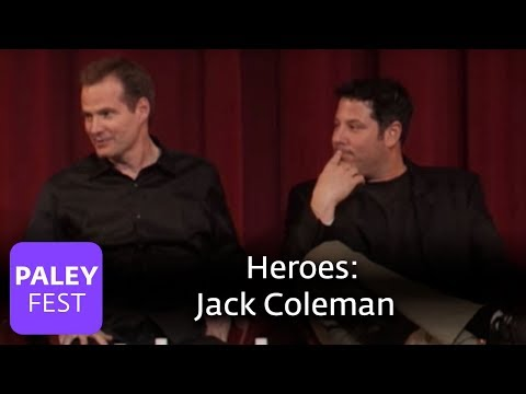 Heroes  Jack Coleman on Expanding the Role of HRG