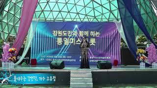 가수 고유정 /물새우는강언덕/통일사랑전문예술인협회/강원…