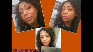 bh cosmetics 28 neutral eyeshadow tutorial