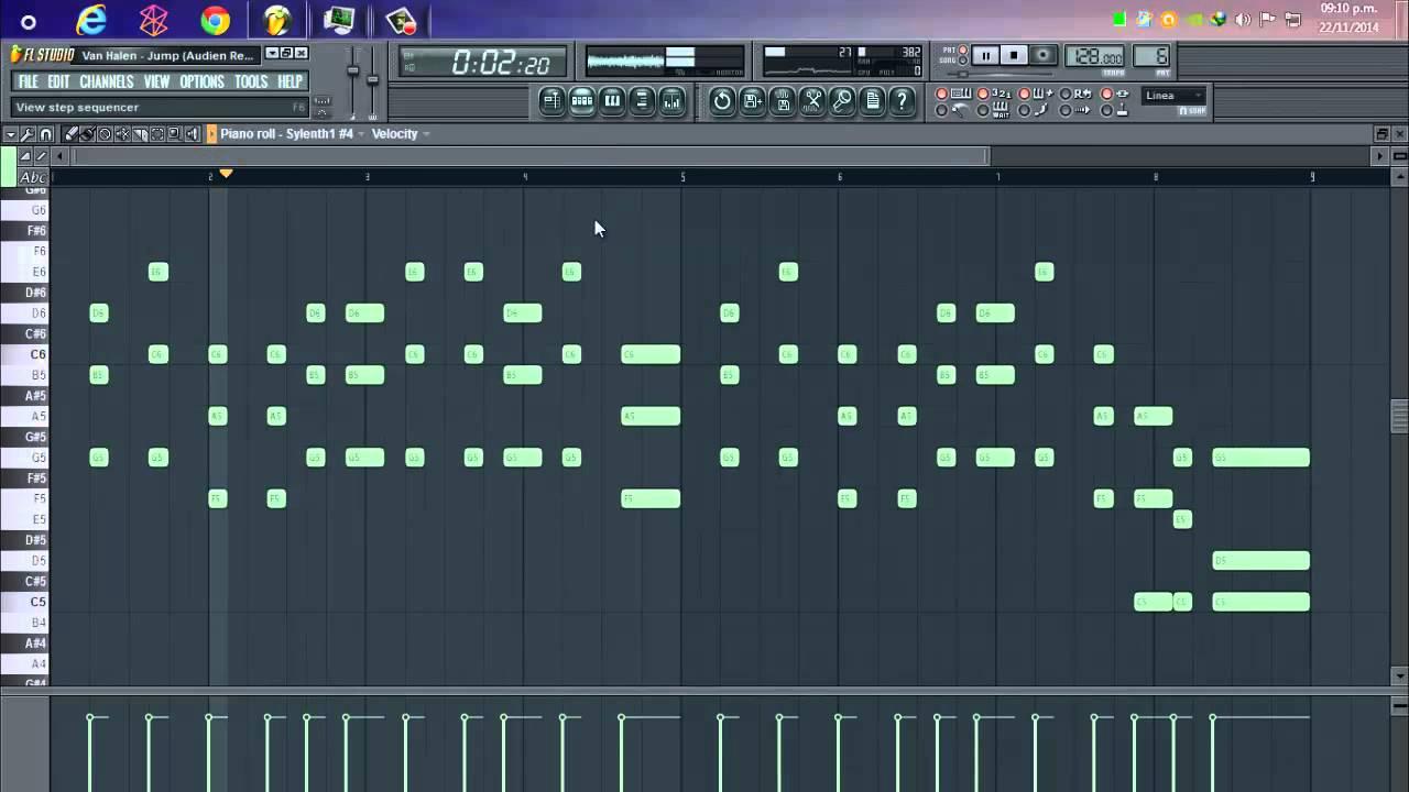 Van Halen Jump Audien Remix Fl Studio Remake Youtube