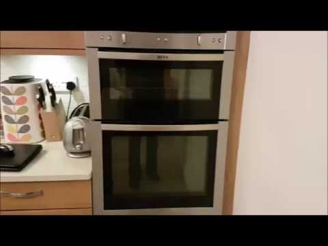 How To Take Apart A Neff Oven Door For Cleaning Or Repair Youtube