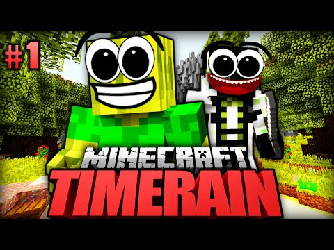 Ein HOLZIGES ABENTEUER!! - Minecraft Timerain #001 [Deutsch/HD]