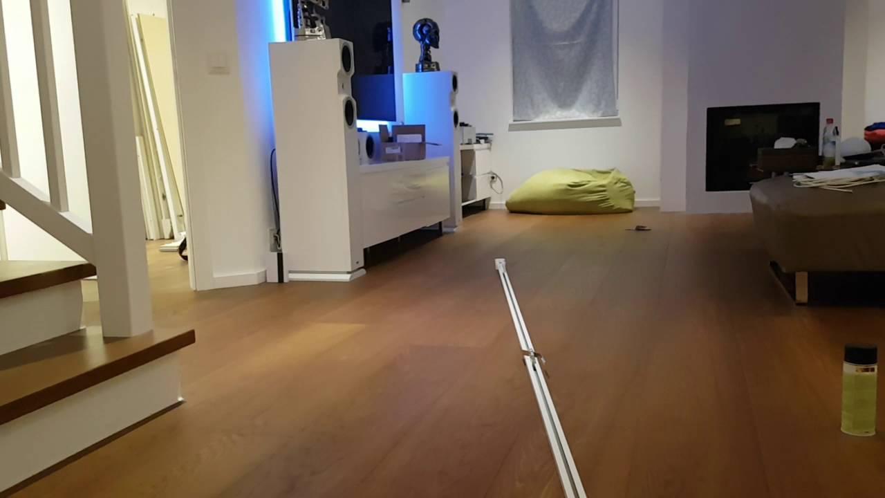 HomeWizard elektrische Vorhangschiene - YouTube